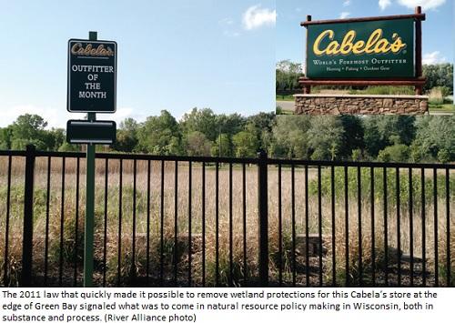 Picture showing Cabelas Location