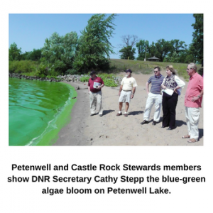 Petenwell Lake Algae Blooms