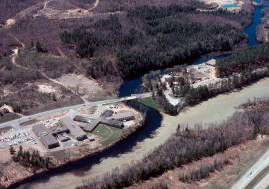 Wisconsin River at Pelican River