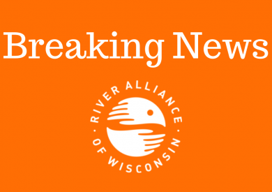 Breaking News [River Alliance logo]
